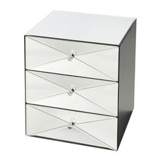 Butler Specialty Company - Butler Aldo Mirrored Accent Chest - Accent Chests and Cabinets