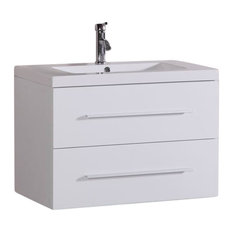 Belvedere Bath LLC   Floating Bathroom Vanity  White  32    Bathroom  Vanities and32 Inch White Bathroom Vanities   Houzz. 32 Inch Bathroom Vanity. Home Design Ideas