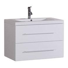 50 Most Popular Modern Wall Mounted Bathroom Vanities For 2019 Houzz