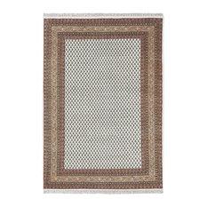 Mir Handmade Wool Rug, Cream, 70x140 cm