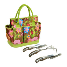 Gardening Tote With Tools, Floral