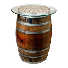 Cork and Barrel Table