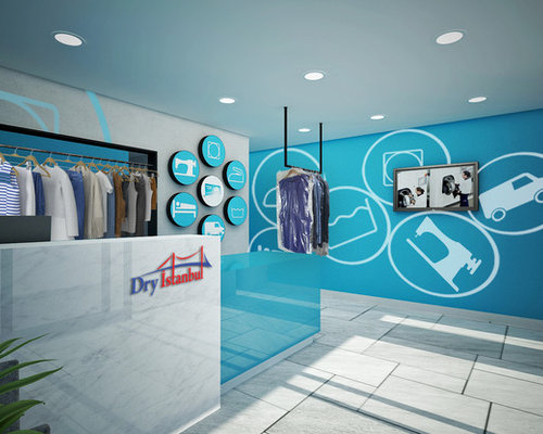 Dry cleaners store design related keywords dry cleaners for Clean interior design