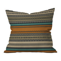 Deny Designs Viviana Gonzalez Textures Abstract Outdoor Throw Pillow, 16x16x4