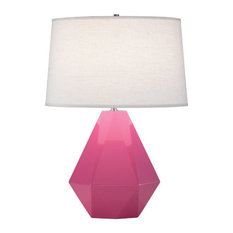 Lily Delta Table Lamp, Schiaparelli Pink