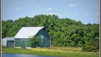 """Barn With a Cross"""
