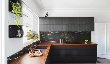 Room of the Week: A Kitchen of Contrasts With a Danish Flourish