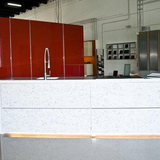 Aluminum kitchen cabinets by Aluniq