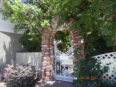 Hereu0027s my garden gate! & Houzz TV: 77 Gorgeous Garden Gates