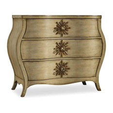 1st Avenue - Jovette 3-Drawer Bombe Chest - Accent Chests and Cabinets