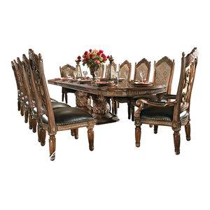 Villa Valencia 15-Piece Rectangular Dining Room Set