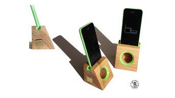 Acoustic amplifiers smartphones