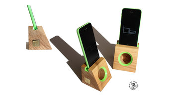 Acoustic amplifiers smartphones