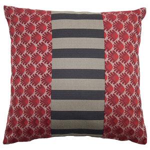 Banda Rossa Striped Cushion