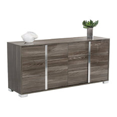 Vig Furniture Inc.   San Marino Dresser, Gray   Dressers