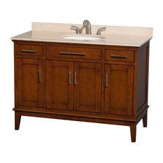 Eco-Friendly 2-Drawer Transitional Single Bathroom Vanity