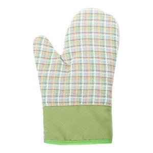 Baking Oven Mitts Kitchen Microwave Oven Heat-Resistant Gloves, 2-Piece Set