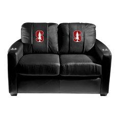 Stanford Cardinals Collegiate Silver Love Seat