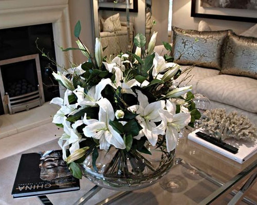 Coffee Table Artificial Flowers