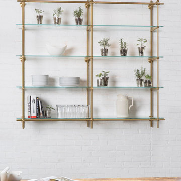 2 Bay Collector's Shelving Unit