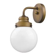 "Acclaim Lighting IN41224 Portsmith 1 Light 11"" Tall Bathroom - Brass"