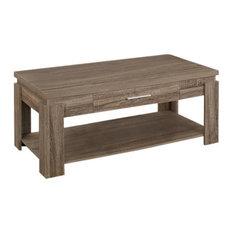 Acme Furniture Xanti Coffee Table Dark Taupe Tables