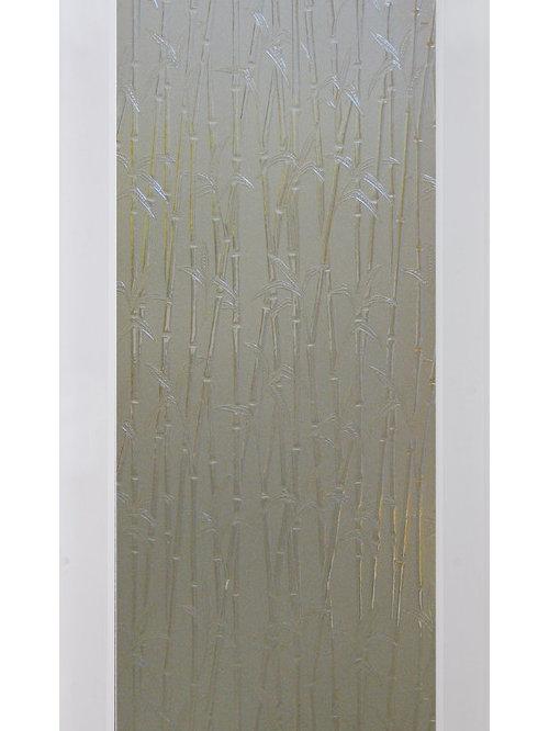Bamboo Decorative Glass Door   Interior Doors