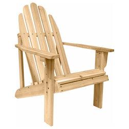 Best Rustic Adirondack Chairs Catalina Adirondack Chair Natural