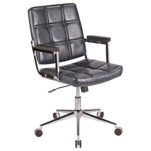 Awesome Barton Swivel Adjustable Executive Computer Office Chair Theyellowbook Wood Chair Design Ideas Theyellowbookinfo