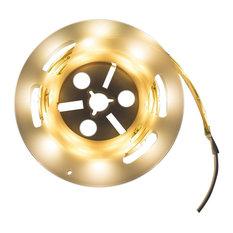 Beliani LLC - Motion Sensor White LED Strip Lights, Set of 2 - Under Cabinet lighting