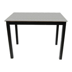 Le'Chef's Stainless Steel Top Table Black