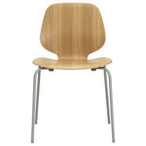 Normann Copenhagen My Chair, Oak and Dark Grey