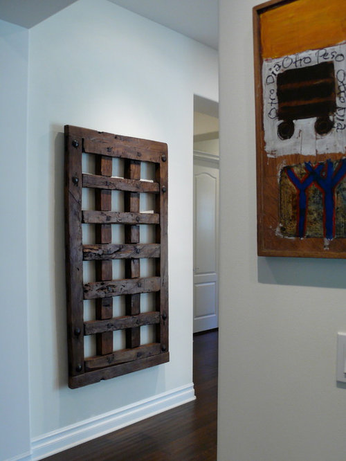 Antique Mexican Jail door Spanish Colonial in Calabasas - Molding And Millwork & Old Mexican Doors as Art
