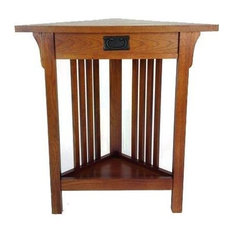 Wayborn Home Furnishing Inc   Corner End Table In Birchwood   Side Tables  And End Tables