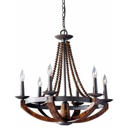 Vintage Farmhouse Chandeliers by Build