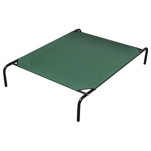 vidaXL Elevated Pet Bed With Steel Frame, 110x80 cm