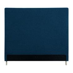 Aberdeen Upholstered Headboard, Denim Linen, King