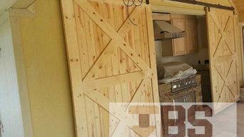 Double X-Brace Doors