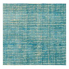 Toulemonde Bochart Voyage Turquoise Rug, 250x350 Cm