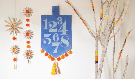 A DIY for Each Day of Hanukkah