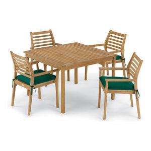 Wexford 5 Piece 48 Table Amp Armchair Set Contemporary