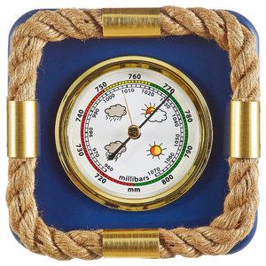 Nautical Rope Barometer, 19x19 cm