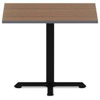 Reversible Laminate Table Top, Square, 35 1/2 x 35 1/2, Espresso/Walnut