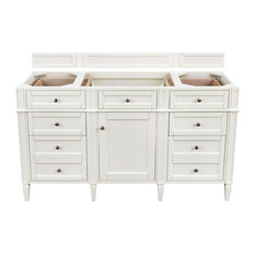 "Brittany 60"" Cottage White Single Vanity"