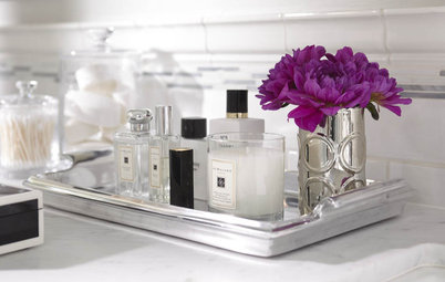 Beautiful Bathrooms: 8 Ways to Show Off Soaps, Lotions and Potions