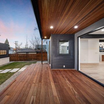 Observatory Park Industrial Custom Home