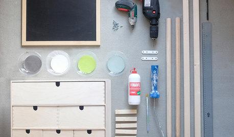 Ikea Hack: Il Portaoggetti Moppe Diventa Mobile per l'Ingresso