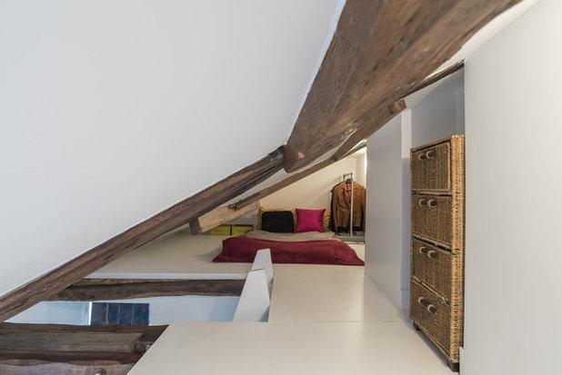 Contemporain Chambre by Bertina Minel architecture