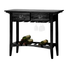 Mission Style Wine Cabinet | Houzz
