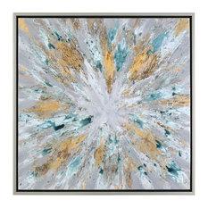 Uttermost Exploding Star Modern Abstract Art